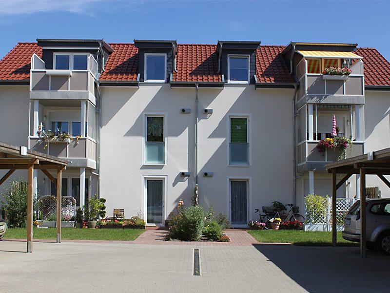 Neubau mit 6 Wohnungseinheiten Parchim