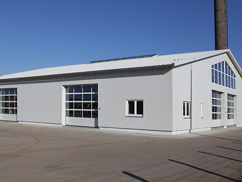 Neubau Melkzentrum Mirow